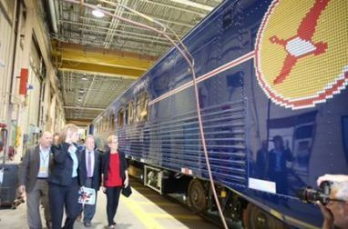 First refurbished Polar Bear Express coach unveiled | The Arctic Circle | Scoop.it