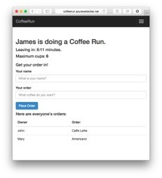 Building a Coffee Run app using Node.js and Knockout   JavaScript for Line of Business Applications   Scoop.it