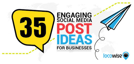 35 Engaging Social Media Post Ideas For Businesses | Facebook for Business Marketing | Scoop.it