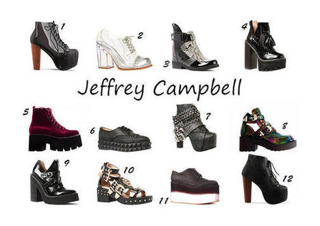 Jeffrey Campbell – In Love with Punk Shoes – My Shoe Confession | myshoeconfession | Scoop.it