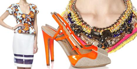 Tendenze moda: un look floreale e allegro super chic! - Sfilate | Moda Donna - sfilate.it | Scoop.it