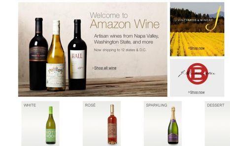 Amazon opens online wine shop in 12 states, 1000+ wines for sale ... | 'Winebanter' | Scoop.it