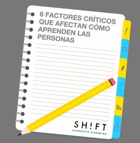 6 factores críticos que afectan cómo aprenden las personas | Aprendiendoaenseñar | Scoop.it