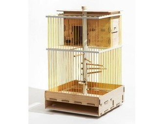 Flat pack urban chicken coop lets you raise chickens on your balcony | Vertical Farm - Food Factory | Scoop.it