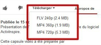Download YouTube Videos as MP4 : extension Firefox | TICE, Web 2.0, logiciels libres | Scoop.it