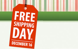 Online Shoppers, Tomorrow is Free Shipping Day (12/16) | Show Prep | Scoop.it
