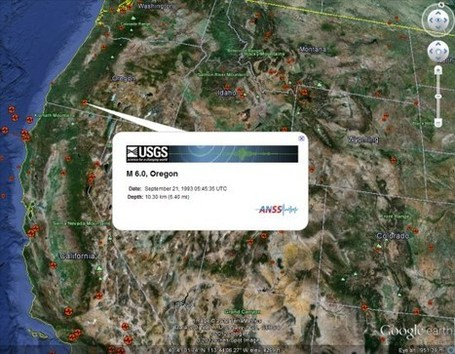 Google Earth A to Z: Earthquakes | Google Earth Blog | Google Earth Resources | Scoop.it
