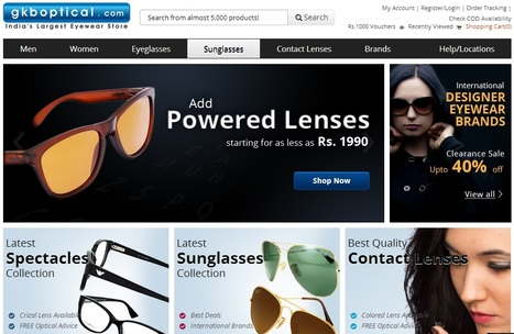 Shopping For Trendy Sunglasses for ladies and gents | Online eyewear shopping | Scoop.it