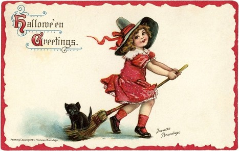 Cute Halloween Freebie! - The Graphics Fairy   Decoupage   Scoop.it