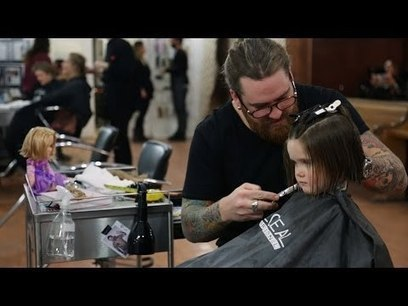 There's a Touching Reason Why A Tattooed Man Is Cutting This 3-Year-Old's Hair | My Scoop | Scoop.it
