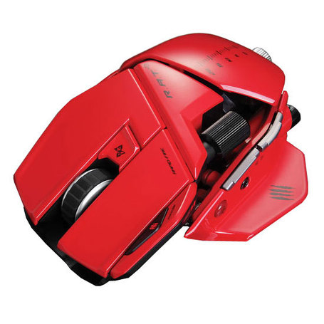 Mad Catz R.A.T. 9 Gloss Red – Laser mouse | High-Tech news | Scoop.it
