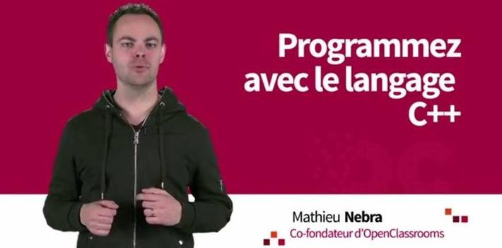 """Le MOOC """"Programmez avec le langage C++""""... 6 semaines de cours à partir du 16 juin   MOOC Francophone   Scoop.it"""