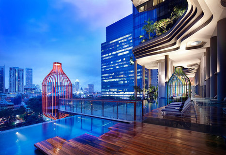 WOHA's parkroyal hotel features curved high rise gardens | architecture&design | Scoop.it