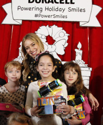 Hilary Duff And Duracell Power Smiles For Children In Need This ...   Sick Kids   Scoop.it