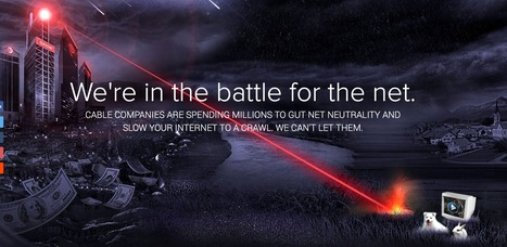 Battle For The Net : If they win, the Internet dies. #NetNeutrality - Take Action | Digital #MediaArt(s) Numérique(s) | Scoop.it