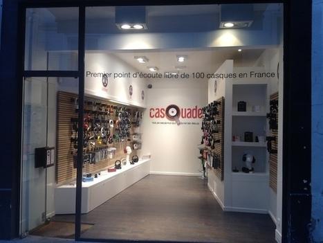 CasQuade, petite révolution auditive : des magasins spécialisés dans l'essayage et la vente de casques audio | ON-TopAudio | Scoop.it