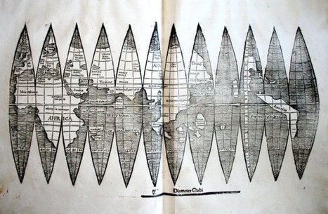 500 Year Old Map of America Found Hidden in Book | visual data | Scoop.it