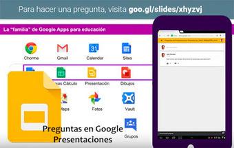 Haz tus presentaciones más participativas con Google | Recursos didácticos y materiales para la formación del profesorado. Servicio de Innovación y Formación del Profesorado | Scoop.it