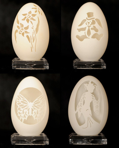 Amazing Eggshell Carvings | Elegant Wedding Cakes | Scoop.it