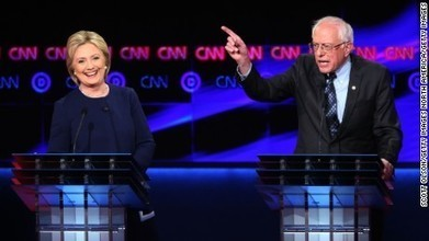 Poll: Hillary Clinton continues to lead Bernie Sanders nationally | American Politics | Scoop.it