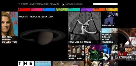 The Space | The Arts – live, free and on demand | Look Ahead | Scoop.it