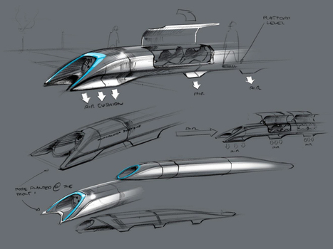 Interactive Infographic: What Would A Hyperloop Nation Look Like ... | Engineering | Scoop.it