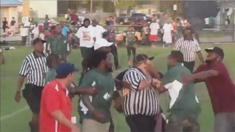 Florida youth football coach who punched ref on video bonds out of jail | riding horse drunk | Scoop.it