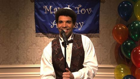 Drake Bar Mitzvah Monologue from Saturday Night Live | NBC | Mixed American Life | Scoop.it