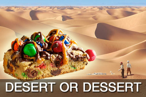 Word Choice: Desert and Dessert | Proofreading and editing services | Scoop.it