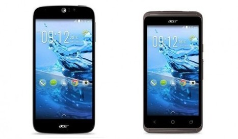 Acer announces two unlocked, dual-SIM Android phones starting at $129   Tech News   Scoop.it