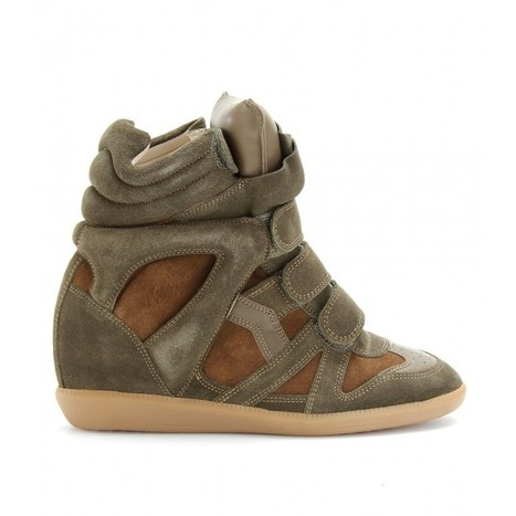 Upere Wedge Sneakers Suede Green Coffee - $193.29 | UPERE Wedge Sneakers Show | Scoop.it