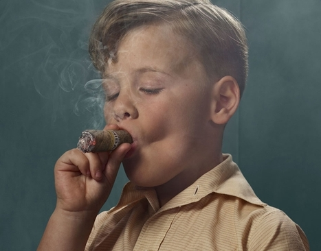 Smoking Kids by Frieke Janssens   Prozac Moments   Scoop.it
