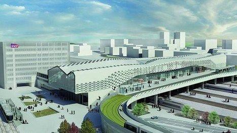 """#Nantes : 3 étudiants imaginent la future gare et gagnent le concours """"acier 2014""""   Construire en Acier   Scoop.it"""