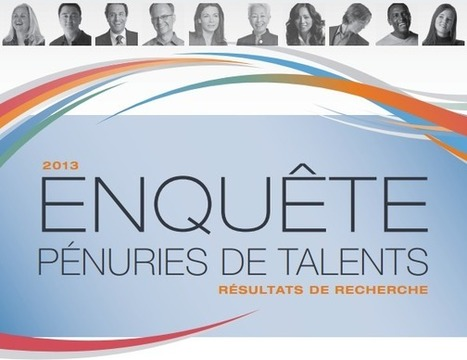 Pénuries de talents 2013 (I) : L'activité des entreprises affectée, place à la riposte ! | Veille des tendances RH et managériales | Scoop.it