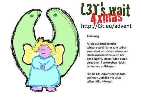 Schmuck im Adent: Ein L3T-Engerl ... | Flickr: partage de photos! | L3T - Lehrbuch für Lernen und Lehren mit Technologie | Scoop.it