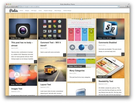 10 thèmes responsive gratuits pour WordPress | Wordpress | Scoop.it