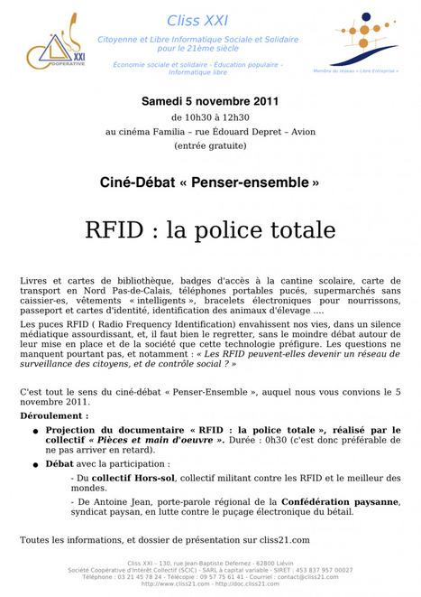 RFID : la police totale - RASED en lutte | Société de surveillance | Scoop.it