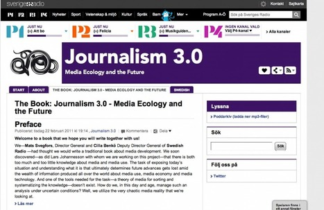 Journalisme 3.0: le pari de la radio publique suédoise | Metamedia | Journalism Issues | Scoop.it