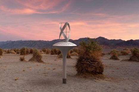 WaterSeer : une éolienne qui produit de l'eau potable   EFFICYCLE   Scoop.it