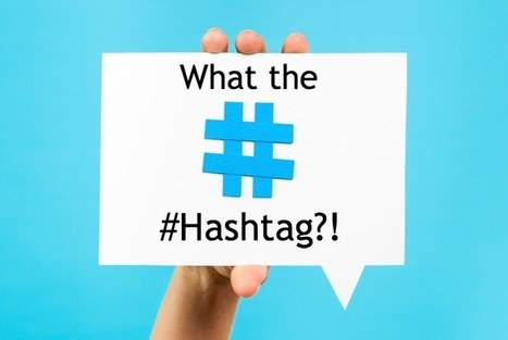 How to Use Hashtags to Grow Your Brand on Twitter | Surviving Social Chaos | Scoop.it