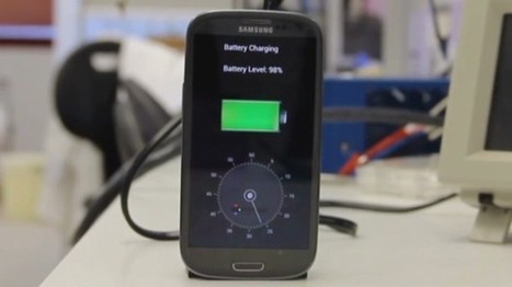 Charge your smartphone in less than 30 seconds | mobile app development | Scoop.it