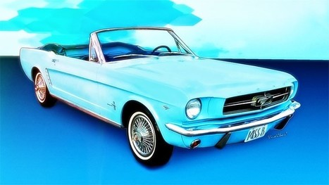 64 65 Mustang Convertible Miss B by VivaChas | Hot Rodney Hot Rods | Scoop.it