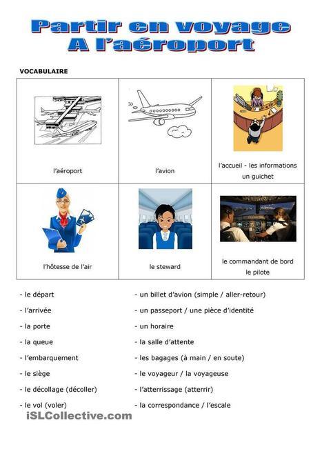 Voyage en avion | Las TIC en el aula de ELE | Scoop.it