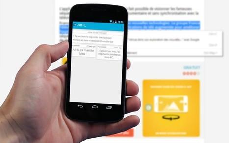 Tutoriel : comment faire des copier-coller du PC à Android | Enseigner avec Android | Scoop.it
