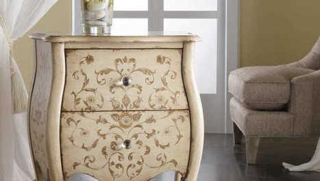 Veselé aj elegantné: Ručne maľovaný nábytok je trendy záležitosť!   domov.kormidlo.sk   Scoop.it