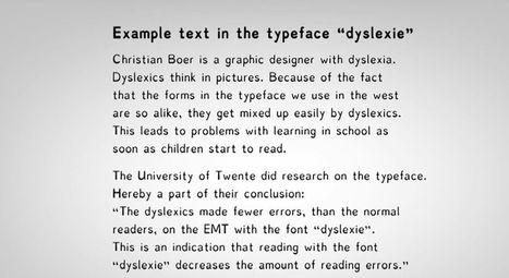 Dyslexie, A Typeface Designed To Help Dyslexics Read | Insertion professionnelle Troubles Dys | Scoop.it