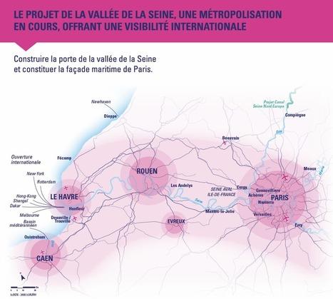 Le projet de la VALLÉE de la SEINE | URBANmedias | Scoop.it