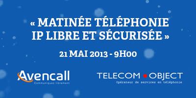 Matinée téléphonie IP libre et sécurisée le 21 mai 2013 dès 9h00 à La Cantine Toulouse | La Cantine Toulouse | Scoop.it
