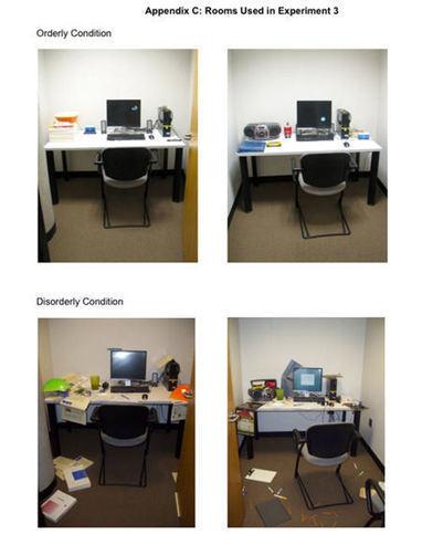 Un bureau en désordre pourrait être une bonne chose | Enseignement, pédagogie, psychologie cognitive, sémiotique et didactique | Scoop.it