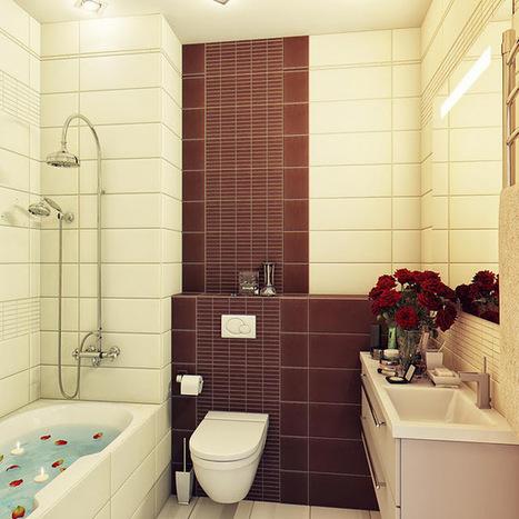 Các mẫu phòng tắm hiện đại với tông màu vintage | thiet ke nha | Scoop.it